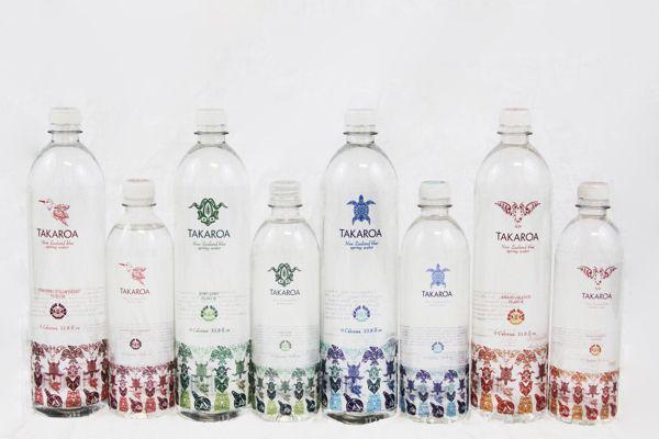 Maori inspired water packaging designnew zealand