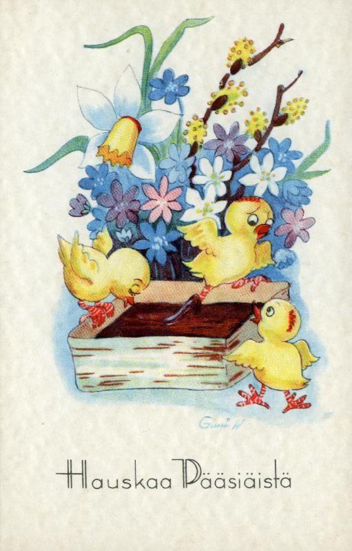 Hauskaa Pääsiäistä! #pääsiäinen #tiput #easter #mämmi