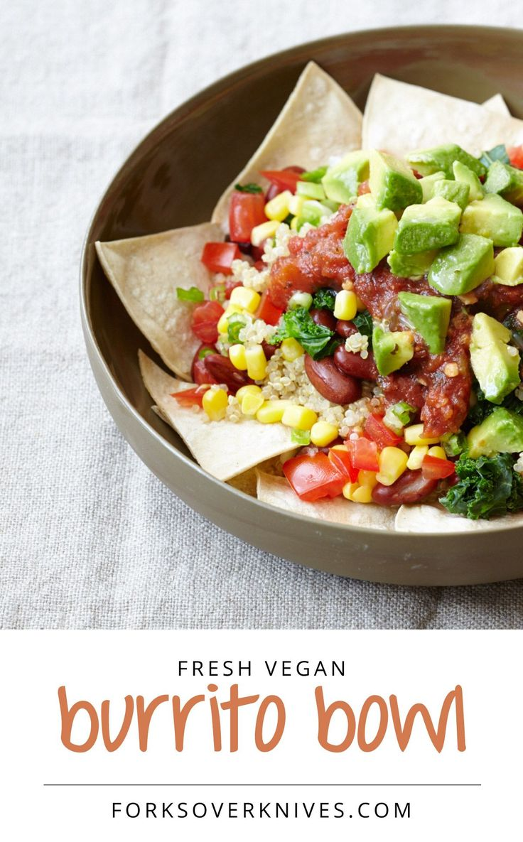 Burrito Bowl from Forks over Knives