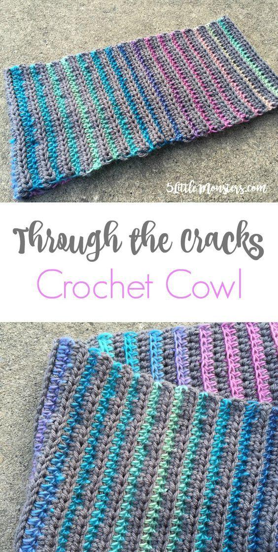 Through The Cracks Cowl Crochet Pinterest Crochet Crochet