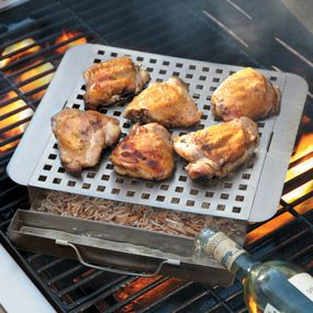 Shop Charcoal Companion Moistly Grilled Smoking Platform at CHEFS.