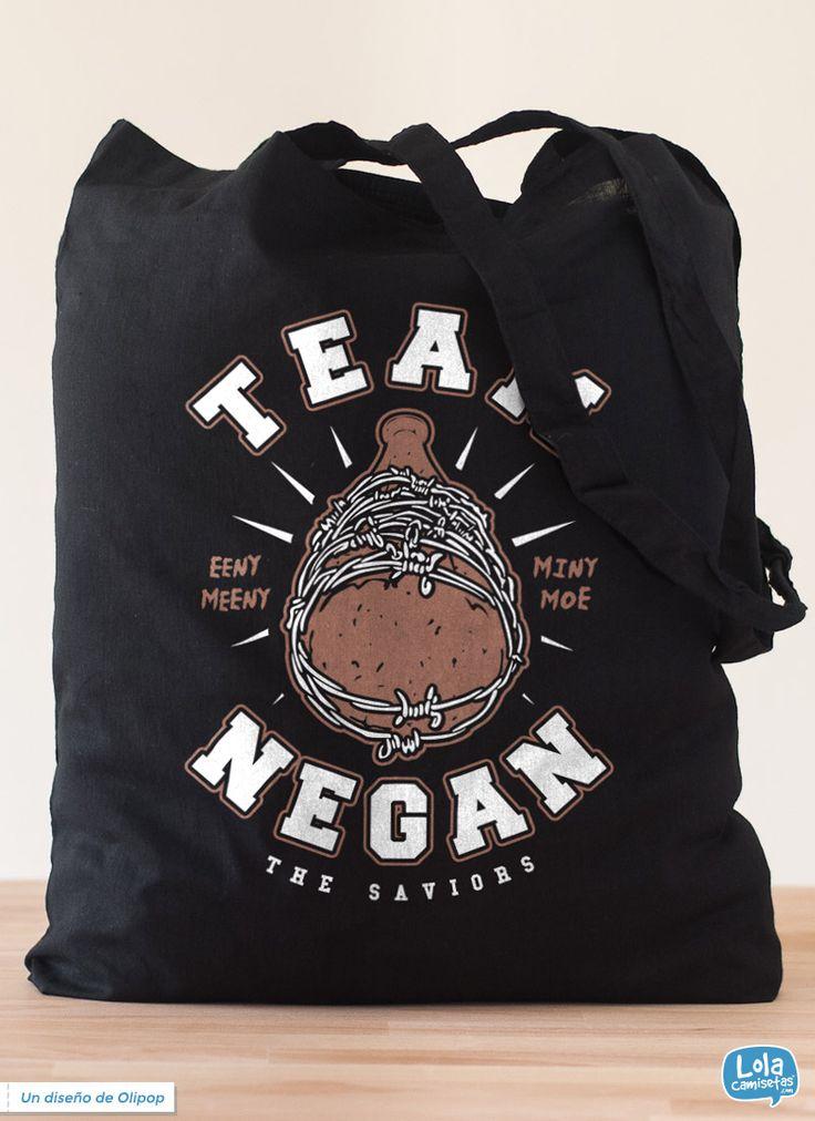 Team Negan tote bag   Design by Olipop