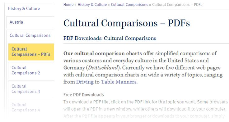 culture quotation germany v . usa essay