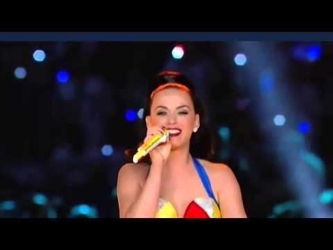 Super Bowl - Katy Perry - Halftime Show Performance 2015 - ORIGINAL Life Shark dance & AC/DC & Missy Eliot !!
