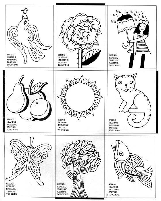 free coloring pages of the sense of taste coloring pages