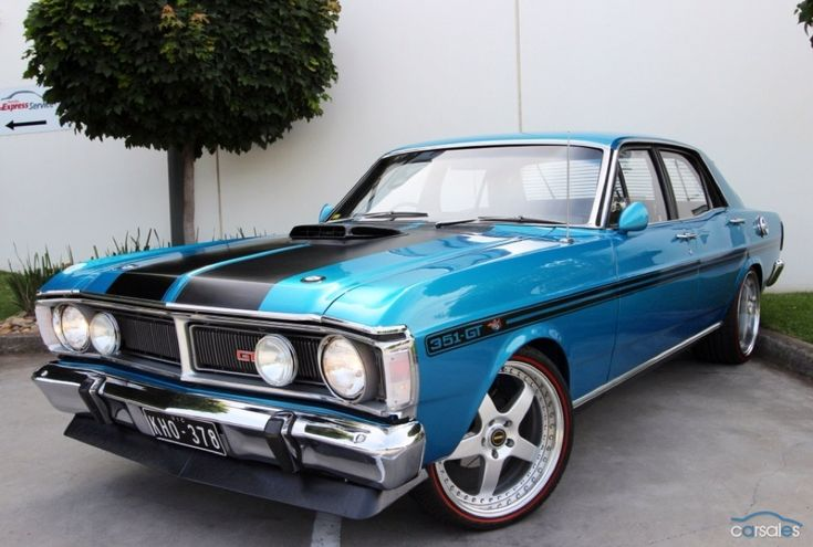 1971 Ford Falcon XY GT