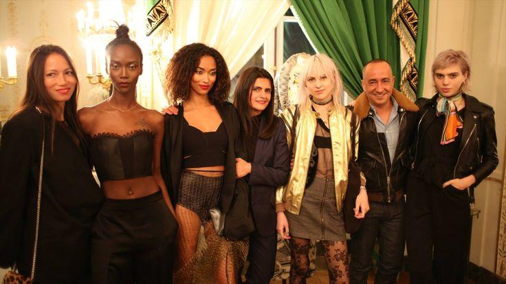"VLADIMIR KARALEEV & NOBI TALAI were part of ""der Berliner Modesalon"" in Paris"