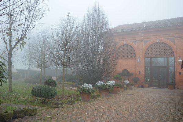 Avvolto nella tipica #Nebbia di #Rovigo