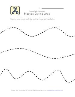 cutting curvy lines