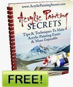Acrylic Painting Secrets - a free e-book. There are also several free videos on this website.