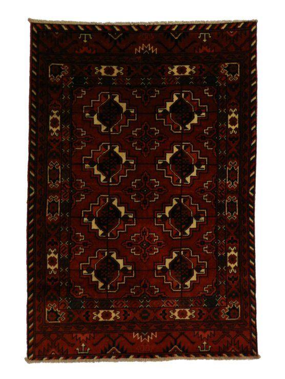 Это афганский🇦🇫 ковёр ручной работы . Такчи ткацкой мастерской ARCC при его создании вдохновлялись узорами туркменмких и афганских ковров. Я Думаю вариация рисунка племенного рисунка западного Туркестана, вполне возможно что в ARCC вдохновились узорами ковров Текке.  Характеристики:  Материал: 100% шерсть Основа: хлопок Размер: 197x146 см Качество: 40x40 узлов на 100 см² 100% натуральные растительные красители Производство: Афганистан…