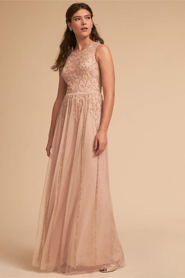 116bbab875c8 Adrianna Papell Arden Dress bhldn ad Pink Blush Themed