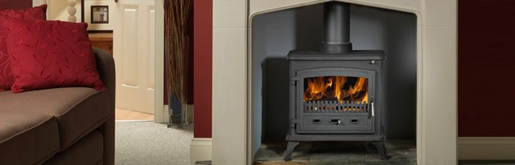 WESTCOTT 2000 RADIANT FIRES - The solid construction of the Westcott 2000 will keep small to medium areas of your home cosy this winter. #Heating #WoodFire #Radiant #Masport #HearthHouse
