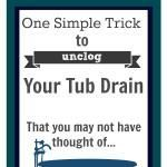 1000 Ideas About Unclog Tub Drain On Pinterest Lime