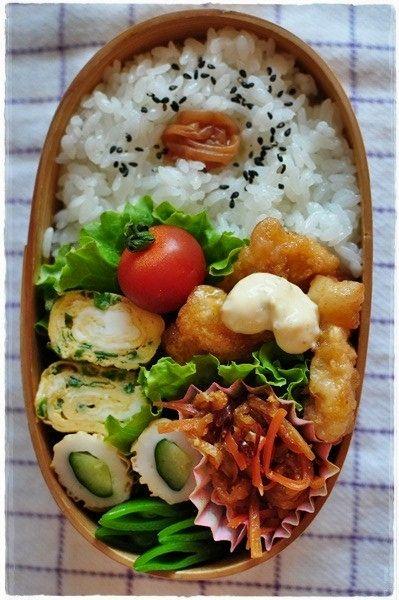 日本人のごはん/お弁当 Japanese meals/Bento. obento 2013/2/21