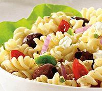 Griekse Koolhydraatarme Pasta Salade