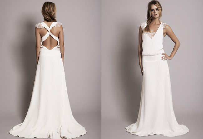 Rime Arodaky | Collection  Robe Claire  Originale et décontractée Love the open back
