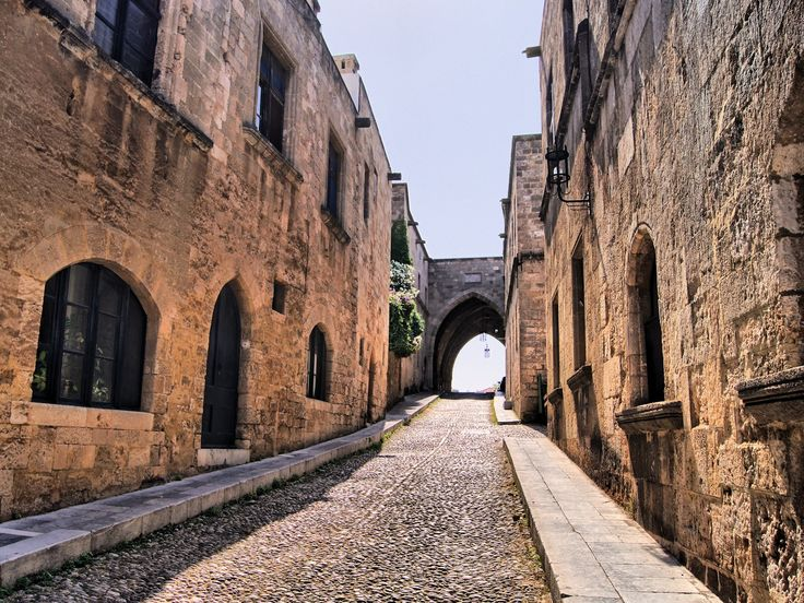 The Avenue of Knights in Rhodes old town