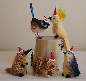 Australian-Christmas-Tree-Brush-Hanging-Ornaments-Xmas-Great-Postage-for-Multi