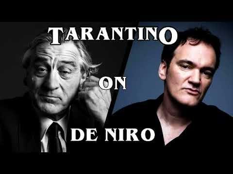 Ideal Quentin Tarantino Tells His Robert De Niro Shoes Story