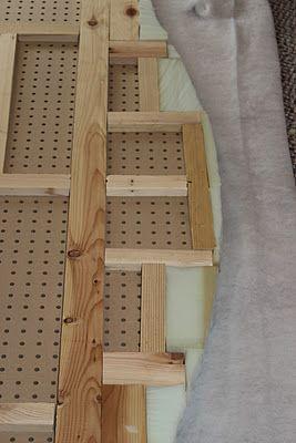 Twist Me Pretty: Upholstered Headboard Tutorial- king size