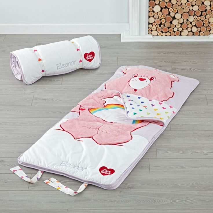 Care Bears Cheer Bear Personalized Toddler Sleeping Bag