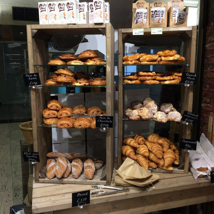 Great Display of Bakery products at new @SimplyFreshUK store at St James' Park