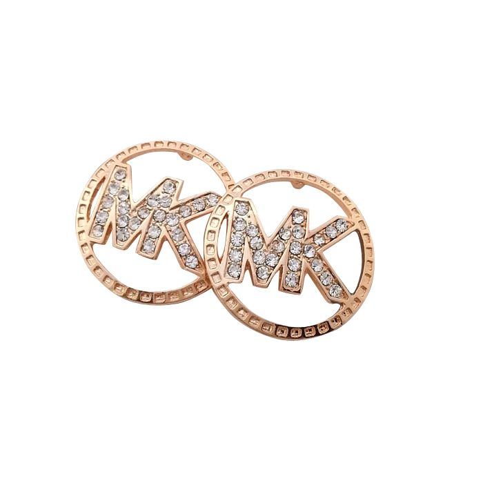 #Share Michael Kors Slice Logo Golden Earrings Becomes More And More Popular Among The Fashion World.