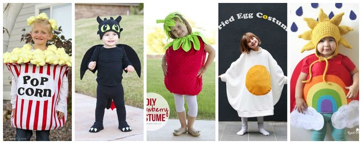 Costumi di carnevale per bambini fai da te. Facili da fare e con poca spesa.
