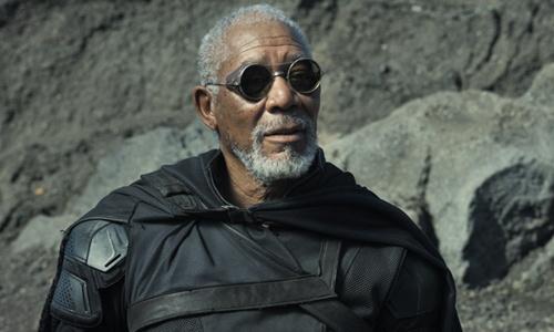 Morgan Freeman in Oblivion (2013) as Beech