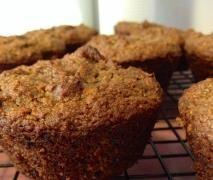 Date, Apple & Cinnamon Muffins