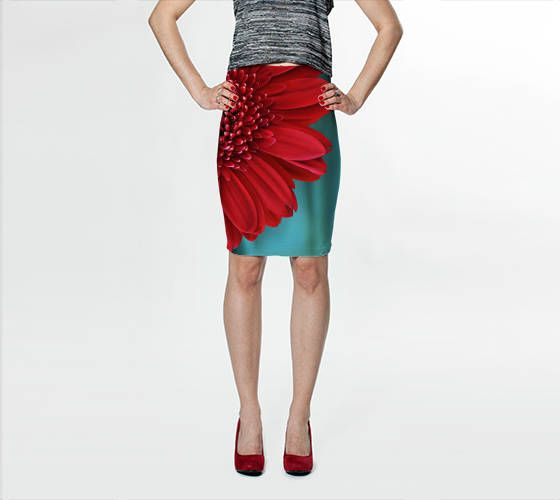 Fine Art Nature Photography for you and your fashionable home.  Fitted Skirt, Pencil Skirt, Skater Skirt, Teen Clothing, Red Skirt, Reversible Skirt, Red and Teal Skirt, Spandex Mini Skirt, Flower Skirt  My vibrant, body hugging fitted ... #christmasgift #inlightimagery #shopsmall #shopart #naturephotography #fineartgift #etsy