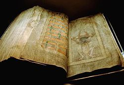The Codex Gigas (English: Giant Book) is the largest extant medieval manuscript in the world.[1] It is also known as the Devil's Bible because of a large illustration of the devil on the inside and the legend surrounding its creation. It is thought to have been created in the early 12th century in the Benedictine monastery of Podlažice in Bohemia (modern Czech Republic). It contains the Vulgate Bible as well as many historical documents all written in Latin. Eventually finding its way to…