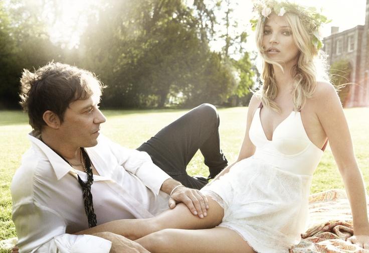 Kate Moss & Jamie Hince: Kiss Me Kate - Vogue by Mario Testino, September 2011