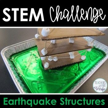 STEM Challenge: April brings Earth Day and this challenge is all about an earth topic! It's an earthquake simulation activity that has students building and shaking! This challenge is available in a money-saving bundle. This challenge is from my STEM by the Month collection.