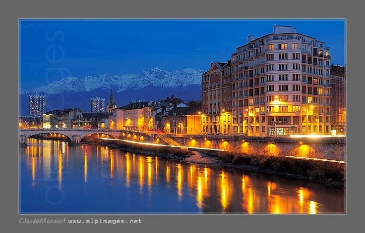 Grenoble, France.  I studied French here.