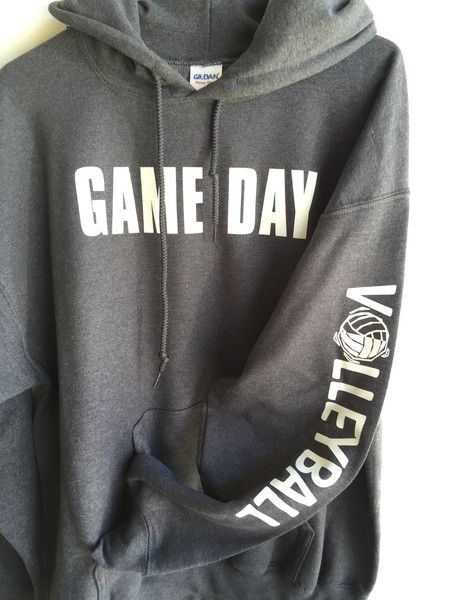 Game Day Hooded Sweatshirts – Trendsetters Volleyball Store