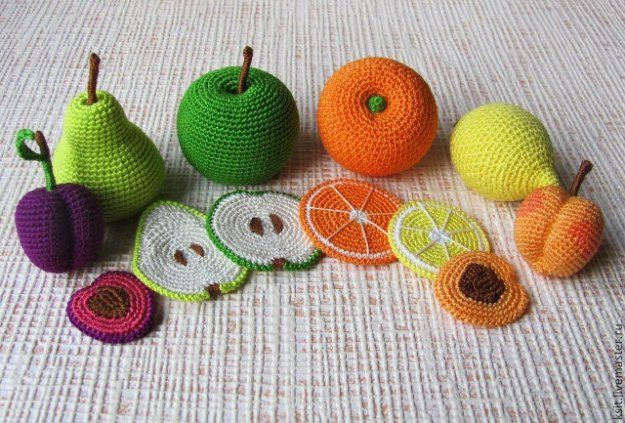 Вязаные развивающие игрушки своими руками | Хвоя