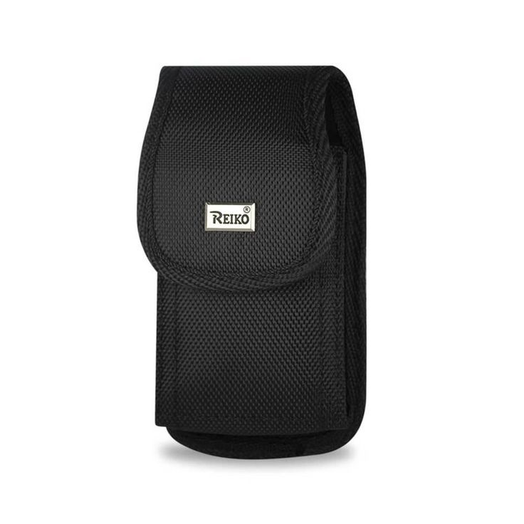 Reiko Vertical Rugged Pouch Motorola Droid Xtreme Mb810/ Droid Shadow/Milestone X/ Me811 Plus Black Cell Phone W. Cover