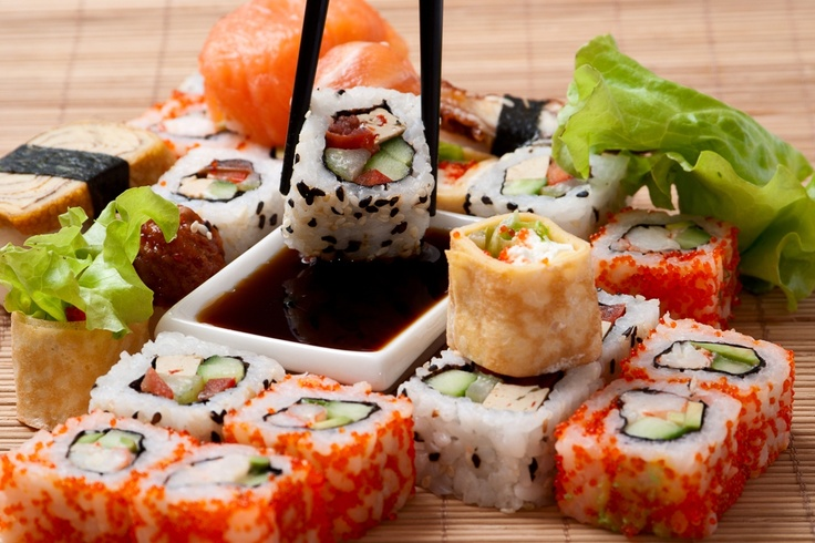 Sushi, Japan. #sushi