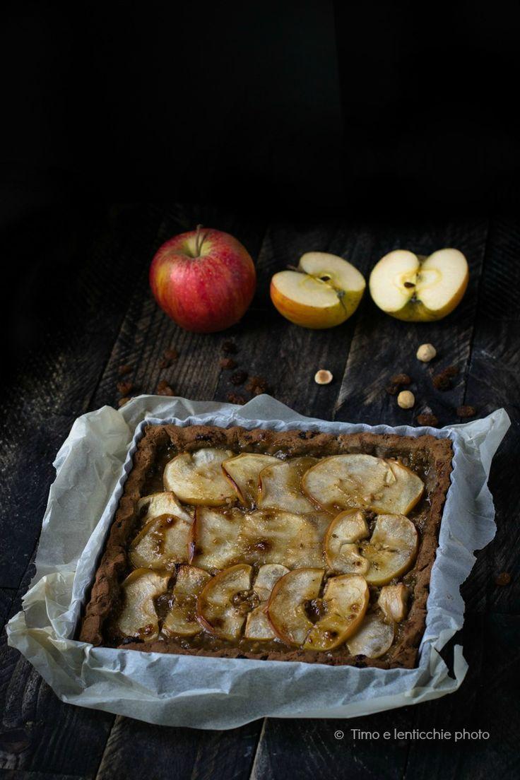 Crostata di mele senza glutine e senza zucchero ricetta della salute