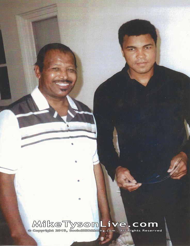 Sugar Ray Robinson and Muhammad Ali