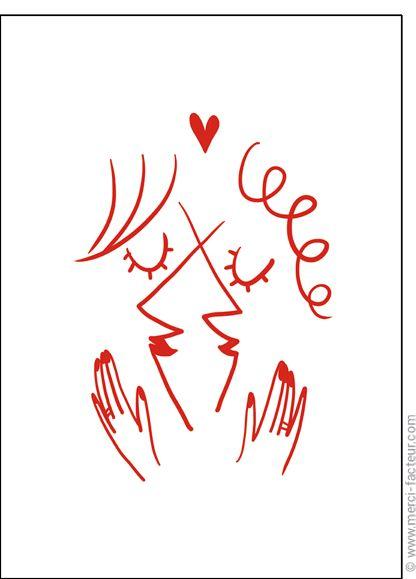 💘 Souhaitez une joyeuse St Valentin avec une jolie carte ❤️  http://www.merci-facteur.com/cartes/rub19-amour-et-saint-valentin.html #carte #amour #StValentin #Love #fleurs #Jetaime #lundi #coeur #jetaime #iloveyou #valentinsday #flowers #amor #SanValentin Carte Deux femmes amoureuses fusionnent pour envoyer par La Poste, sur Merci-Facteur !