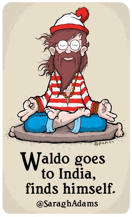 Waldo goes to India
