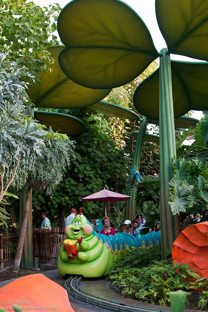 Disneyland Aug 09 - Exploring a bug's land by PeterPanFan, via Flickr