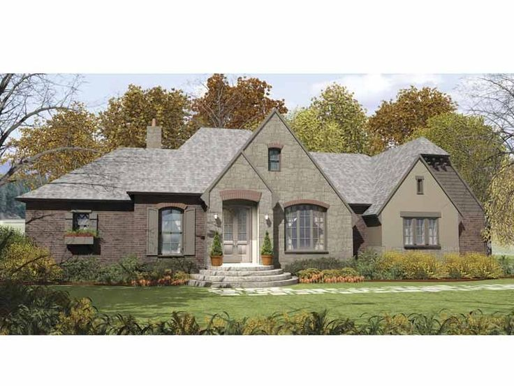 Eplans french country house plan beautiful stone gables French country stone