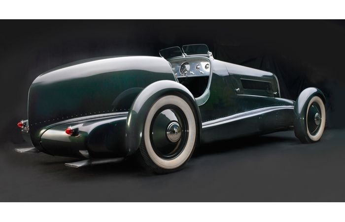 Sensuous Steel: Art Deco Automobiles - Frist Center for the Visual Arts. Edsel Ford's Model 40 Special Speedster, 1934.