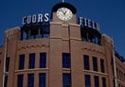 Colorado Rockies Coor's Field.  Drove by after buying my car in Texas, but was not trying to see stadiums yet.