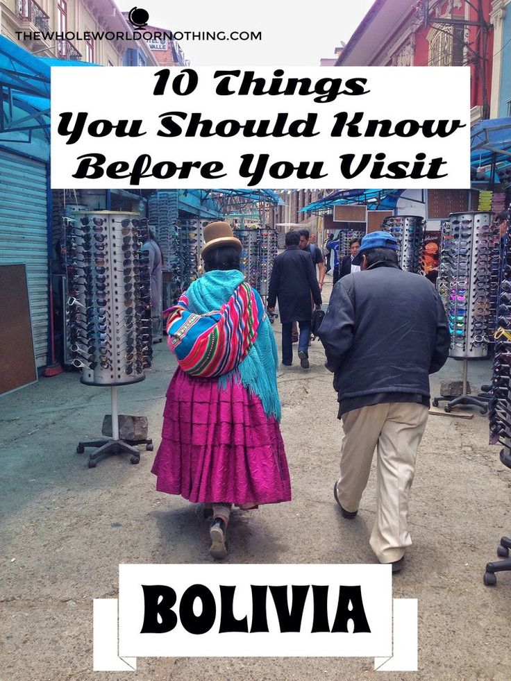 Things to Know Before You Visit Bolivia | Backpacking Bolivia | Budget Travel