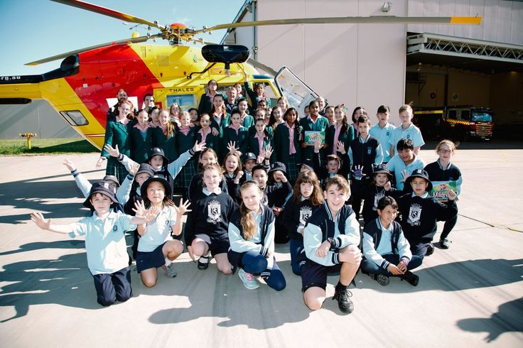Base excursions are just one of the many ways schools who are doing the program can learn more about the service! We loved having Five Dock Public School and Danebank Anglican School at our La Perouse base!